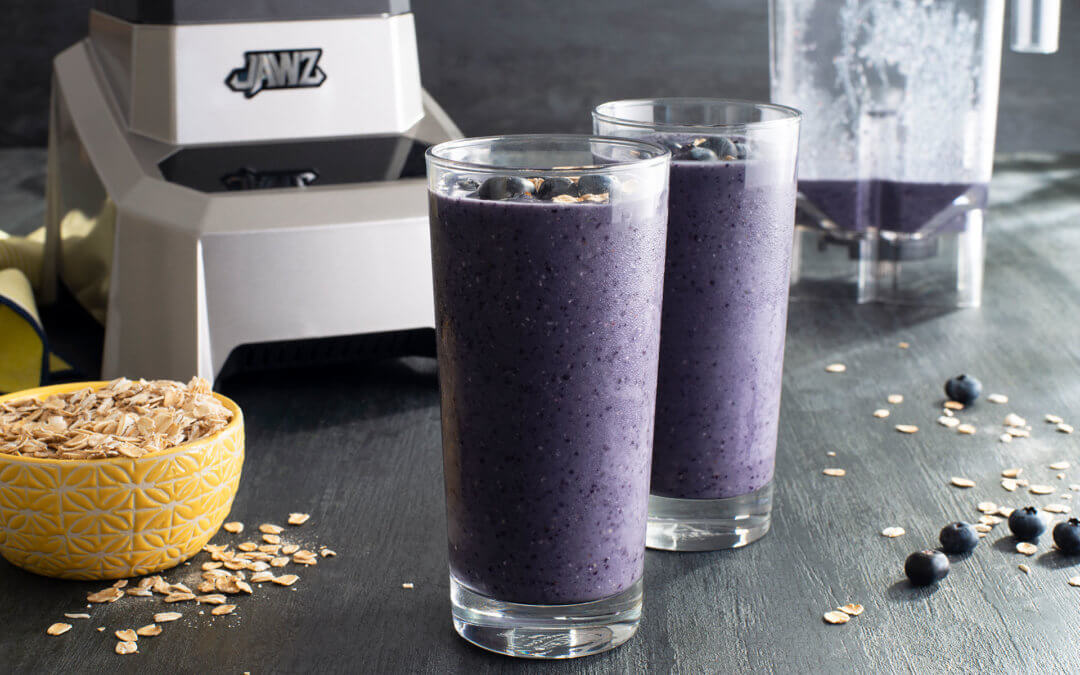 Berry Blue Oat Smoothie